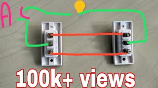 Two way switch Connection