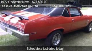 1972 Chevrolet Nova  for sale in Nationwide, NC 27603 at Cla #VNclassics