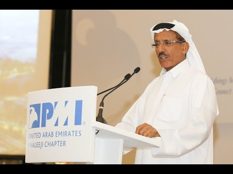 Khalaf Al Habtoor keynote speaker at PMI UAE Khaleeji Chapter Annual Gathering Event