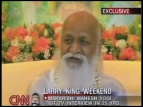 Maharishi en Larry King Live - Español: Parte 1/5