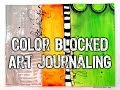 Art Journaling 9.25 Color Blocked