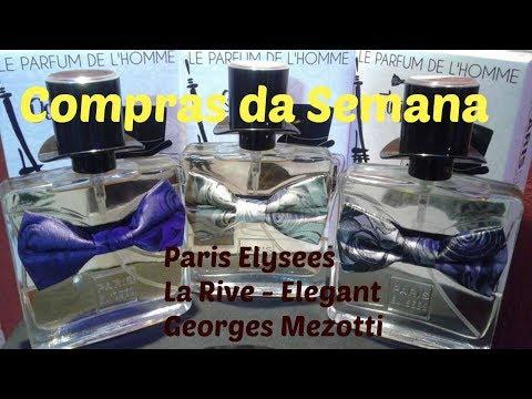 LANÇAMENTO PARIS ELYSEES, Le Parfum De L