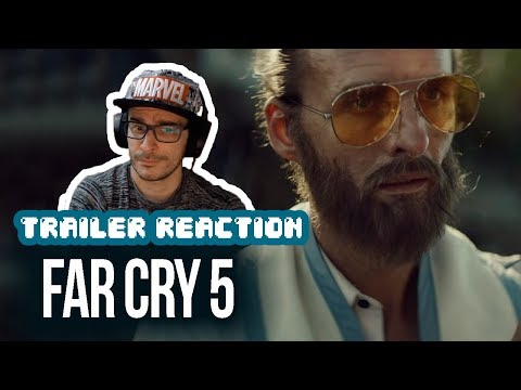 REACTION: FAR CRY 5 – The Baptism Live Action Trailer