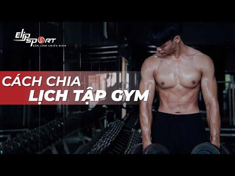 Chia Lịch Tập Gym Cho Nam Trong 1 Tuần Như Thế Là Chuẩn?