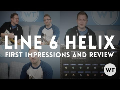 Line 6 Helix - First Impressions and Review, Free AC30 Dual Cabs Patch