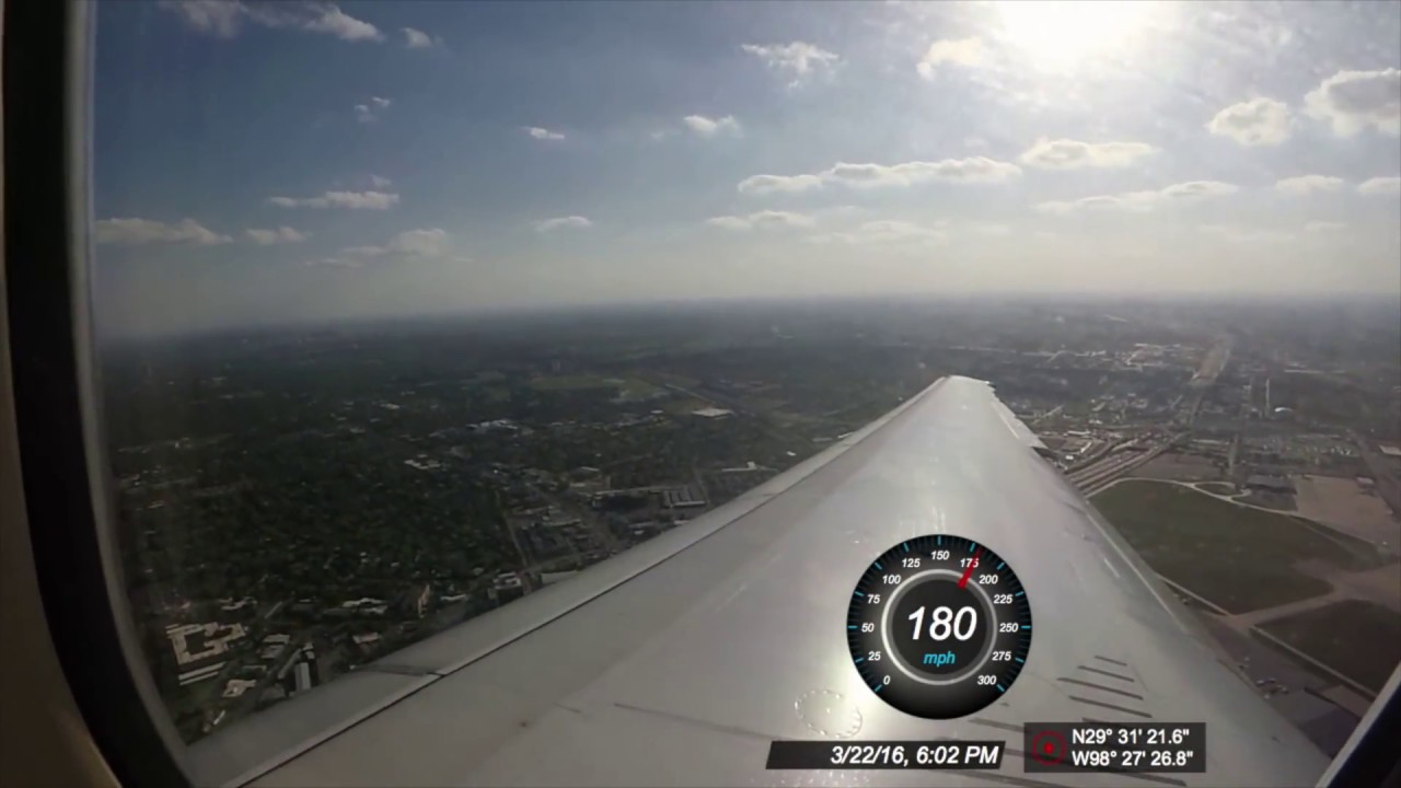 airplane takeoff in md90 from sat with gps speed youtube