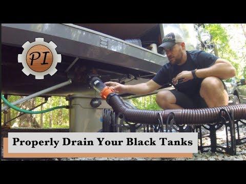 How to Empty Black Tanks & Toilet Disaster // RV Living