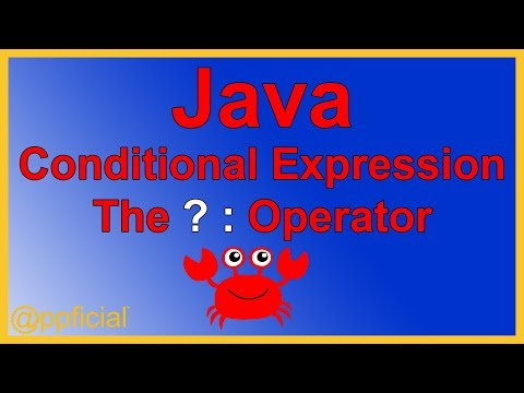 java-conditional-expression---the-ternary-operator-by-example---java-programming-tutorial