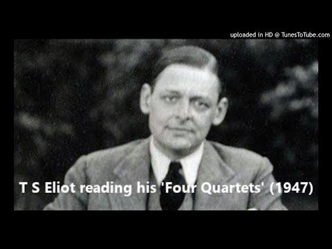 T S Eliot reading his 'Four Quartets' (1947)