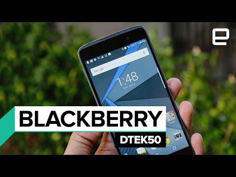 BlackBerry DTEK50: First Look