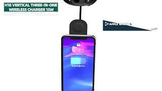 애플 고속 무선충전기 올인원 아이폰 애플워치 에어팟 갤…