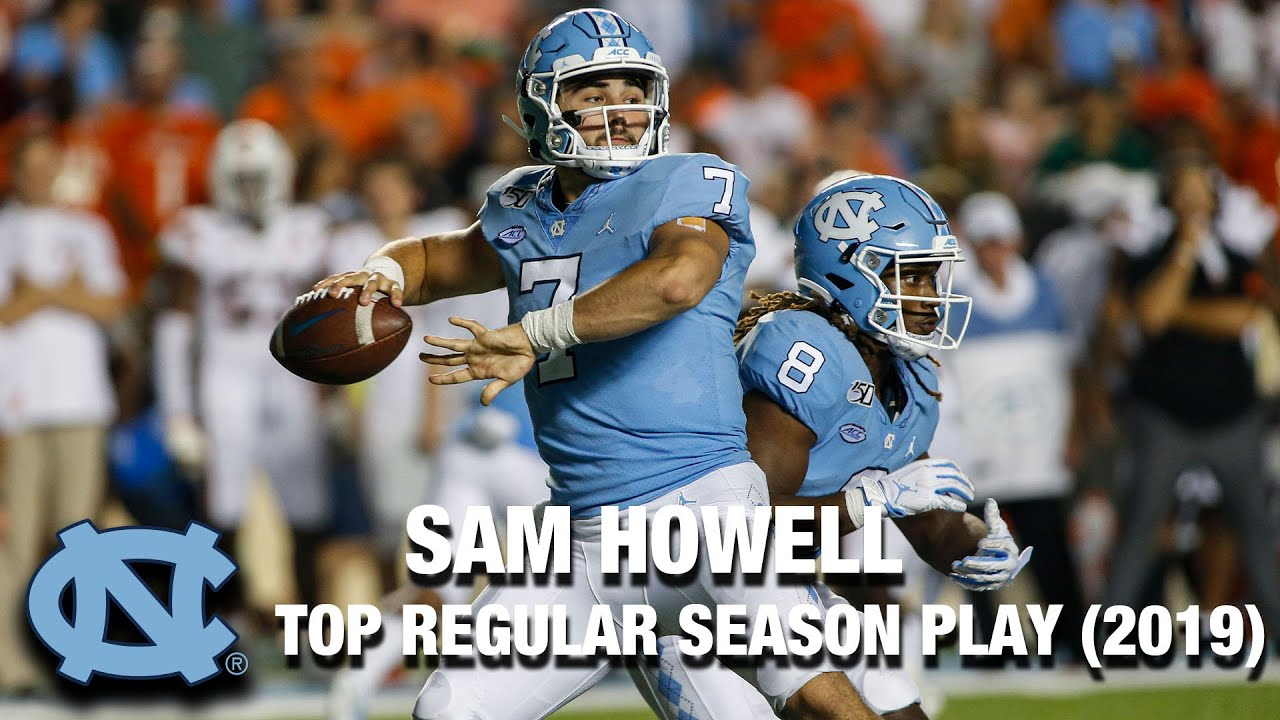 UNC QB Sam Howell  | Top Regular Season Play of 2019