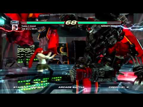 Tekken 6 Lili vs NANCY-MI847J (Ultra Hard)