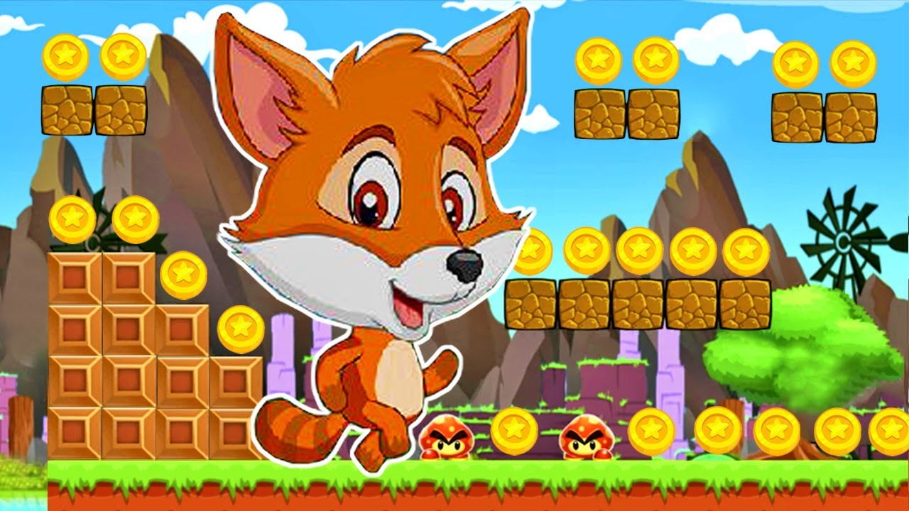 Super Fox World Jungle - Videos Para Niños - Juegos de Aventura del Zorrito