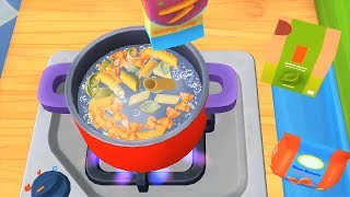 Dr.Panda Restaurant 3 - Play Chef & Learn How To Make Food - Fun Kitchen Game For Kids