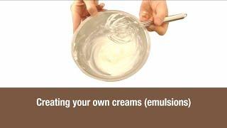 Erstellen Sie Ihre eigenen Cremes (Emulsionen)