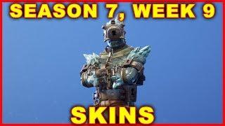 Fortnite Season 7 Week 9 Skins (Prisoner Skins) SNOWFALL CHALLENGES