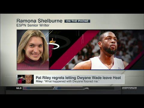 Pat Riley regrets letting Dwyane Wade leave Miami Heat