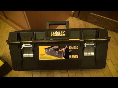 Удобнейшие ящики для инструмента STANLEY  FatMax  (1-93-935)