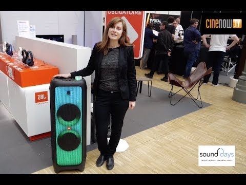 Jbl PartyBox 1000 & PartyBox 100 (Sound Days 2019)