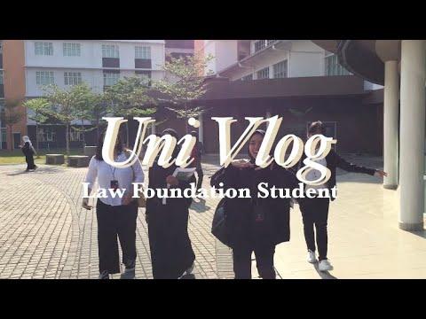 Uni Vlog | Law foundation student (Malaysia)