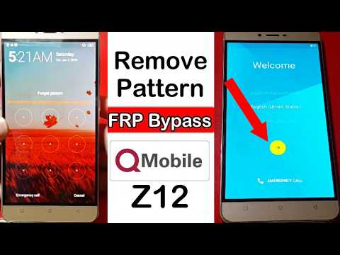 Qmobile Z12 Hard Reset, FRP Bypass 100% Easy Method