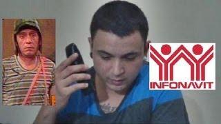 """Broma telefónica! """"RENTAR CASA DE INFONAVIT"""" Y VENDER AGUAS FRESCAS CON EL CHAVO DEL 8! # (34)"""