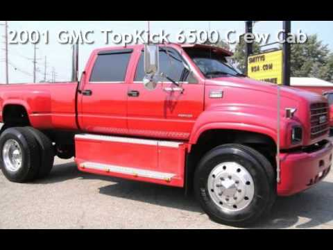 2001 GMC TopKick 6500 Crew Cab for sale in Angola, IN