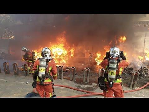 Gilets jaunes Acte 23 : fortes tensions et affrontements (20 avril 2019, Paris)
