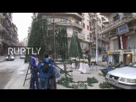 Syria: Catholics in Aleppo start getting ready for Christmas