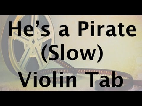 Hes a Pirate Slow Practice Version