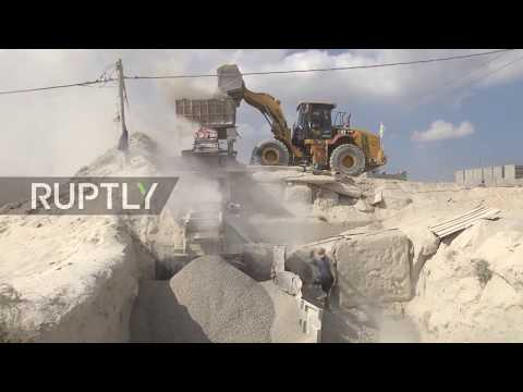 State of Palestine: Recycle concrete from bombarded sites used to rebuild Gaza