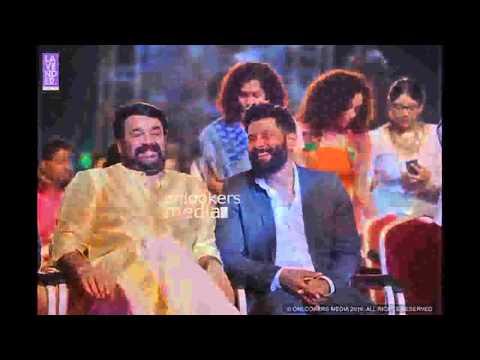 Vikram and Mohanlal Asianet film award...