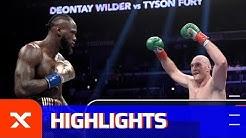 Trotz Unentschieden gegen Tyson Fury: Deontay Wilder bleibt Weltmeister | Boxen | Highlights | SPOX