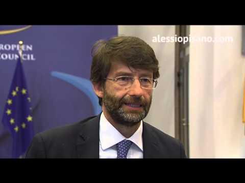 Dario Franceschini, Progetto Pompei tra fondi Ue e mecenatismo privato