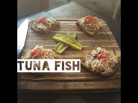 Healthy Tuna Fish Sandwich Recipe | How To Make Low Calorie Tuna Fish Sandwiches