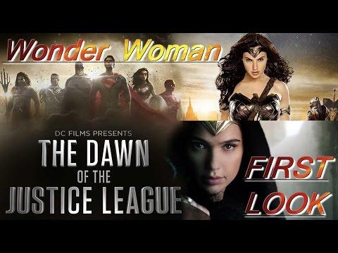 Wonder Woman First Movie Footage,first look Review Gal Gadot, Chris Pine