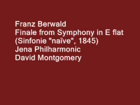 FRANZ BERWALD, Finale from Symphony No  4
