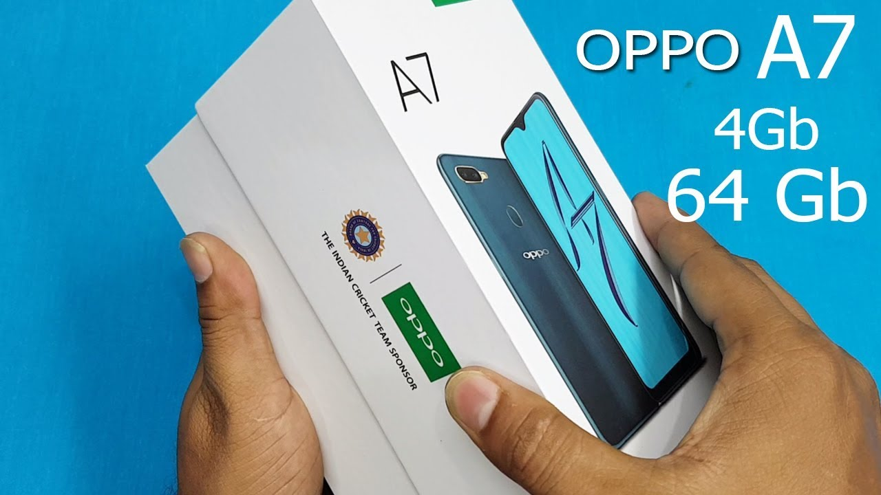 OPPO A7 Unboxing / First Look || Oppo A7 Unboxing And Overview