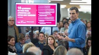 Asamblea abierta de Pedro Sánchez en Sevilla