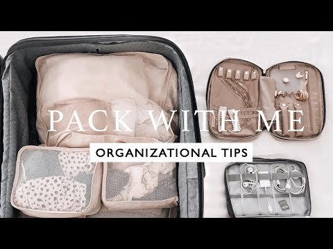 HOW I PACK FOR VACATION I TIPS AND TRICKS TO STAY ORGANIZED