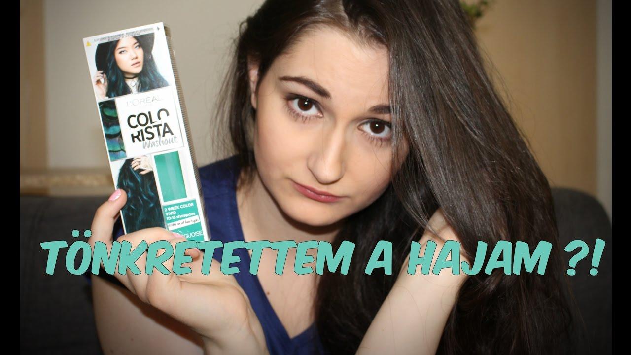 L oréal Colorista hajszínező - teszt + SORSOLÁS - YouTube e0cbb472e1