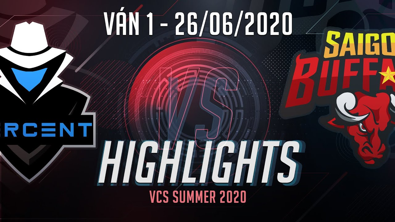 Highlights PER vs SGB [VCS 2020 Mùa Hè][26.06.2020][Ván 1]
