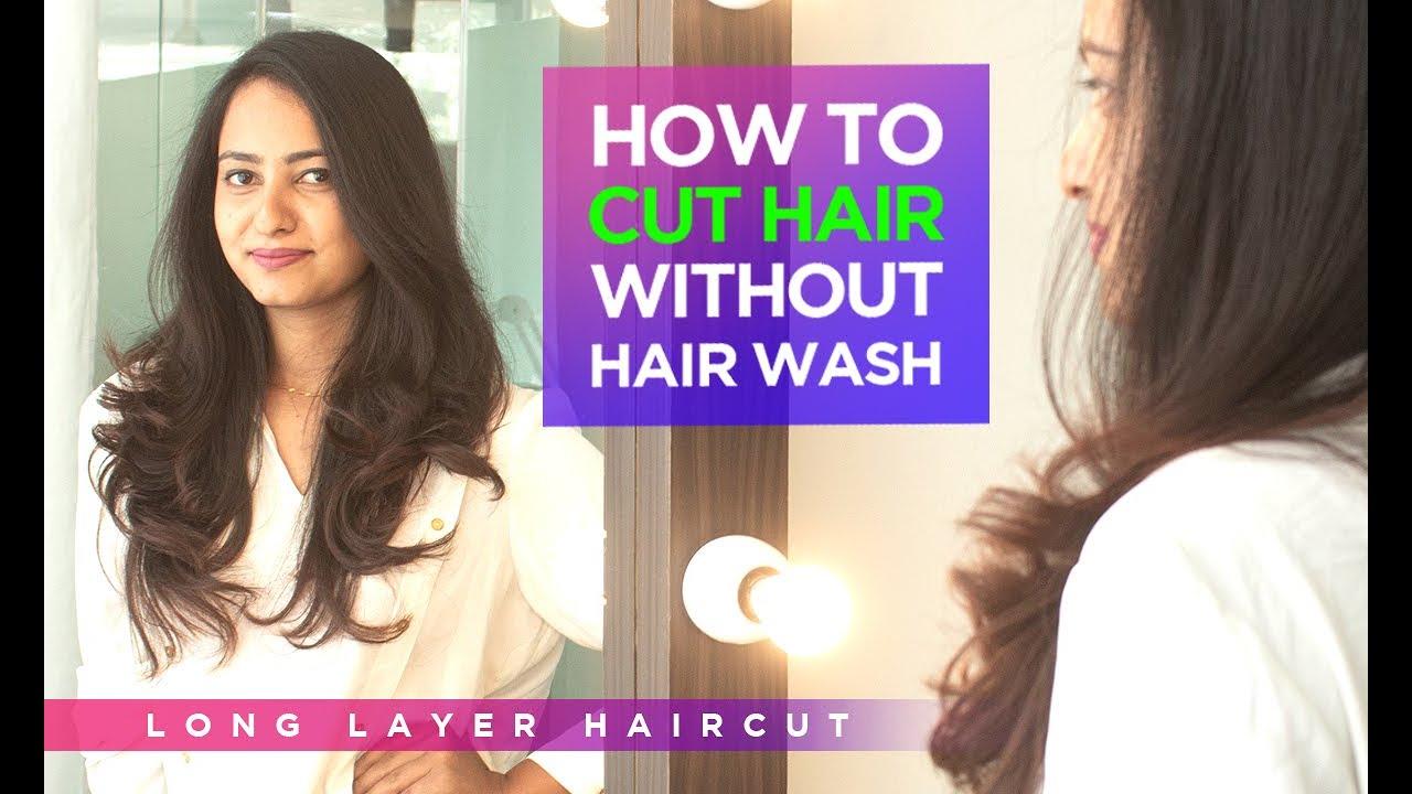 Long Layer Haircut on Indian Women | NYNY Unisex Salon