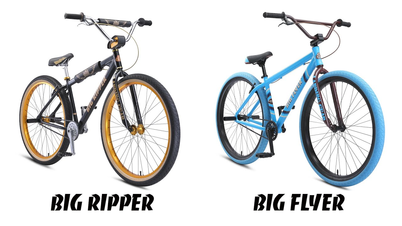 SE Bikes Big Ripper vs. Big Flyer