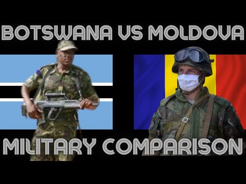 BOTSWANA VS MOLDOVA MILITARY POWER COMPARISON |MILITARY STATS