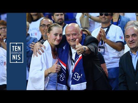 Victoire en Fed Cup : réactions du président et du DTN