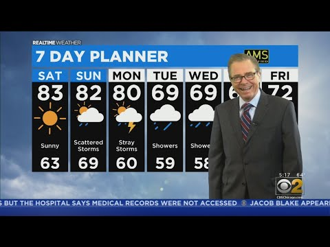 Chicago Weather: Rain Chances This Holiday Weekend