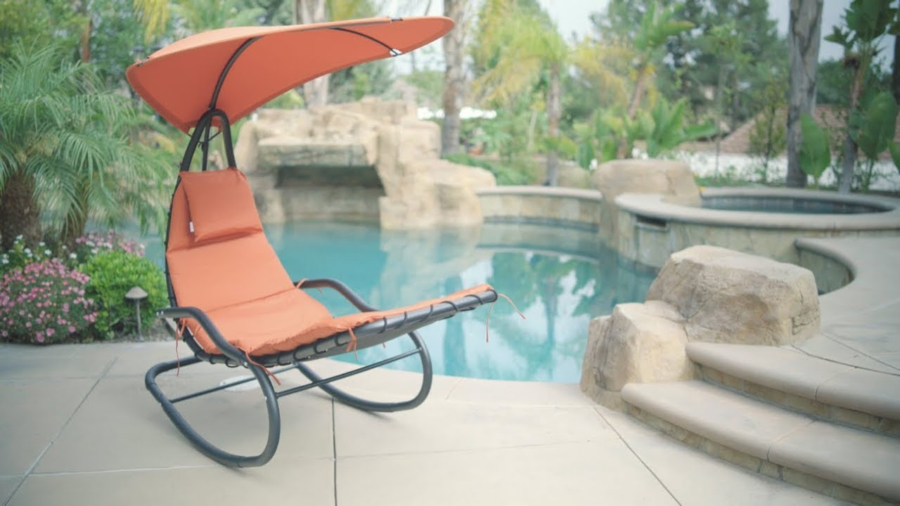 Tommy Bahama Outdoor Cushions, Rocking Chaise Lounge Chair Youtube