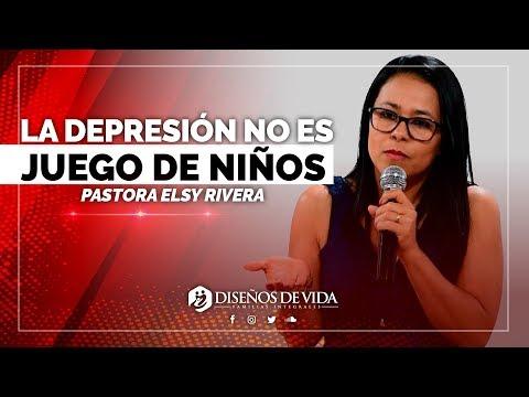 🔴 La DEPRESIÓN Infantil NO Es JUEGO De NIÑOS - Elsy Rivera   Prédicas Cristianas